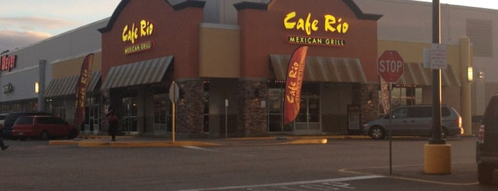Cafe Rio Mexican Grill is one of Locais curtidos por Billy.