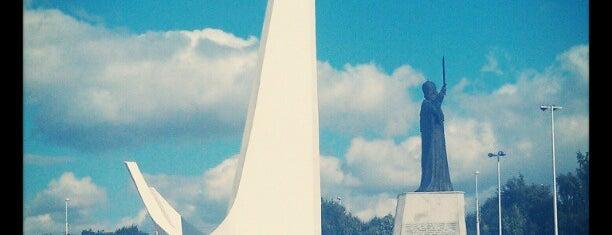 Памятник пионерам океанического лова is one of Дорога Спб - Калининград.
