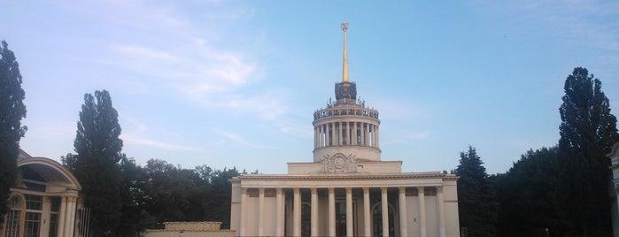 ВДНХ / Экспоцентр Украины is one of выжить летом в городе.