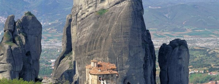 Meteora is one of Spring destinations in Greece.