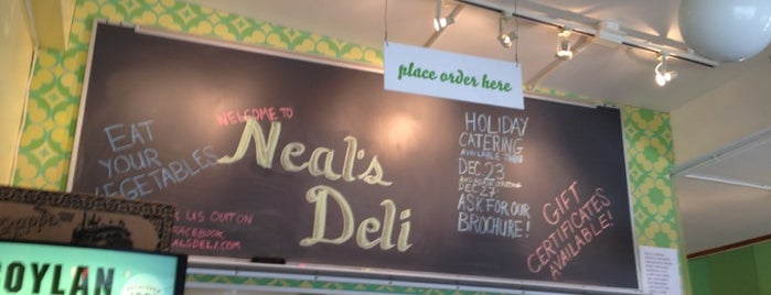 Neal's Deli is one of 100 Foods in 100 Counties (NC).