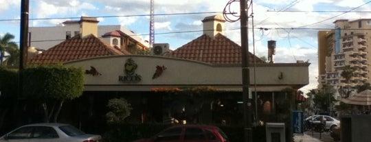 Rico's Café Zona Dorada is one of Mazatlan.