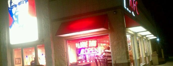 KFC is one of สถานที่ที่ Imran ถูกใจ.