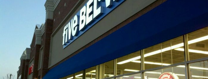 Five Below is one of New Jersey.