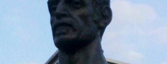 Frank Zappa Statue is one of Charms of Baltimore #visitUS #4sq.