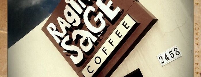 Raging Sage Coffee Roasters is one of Posti che sono piaciuti a Mich.