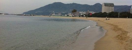 須磨海岸 is one of 日本の渚百選.