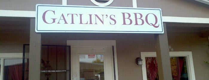 Gatlin's BBQ is one of Take Me Out.