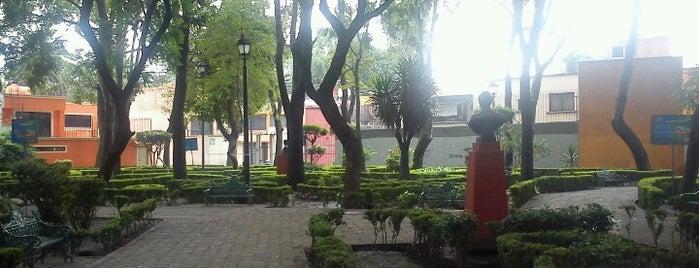 Parque del Periodista is one of Por corregir.
