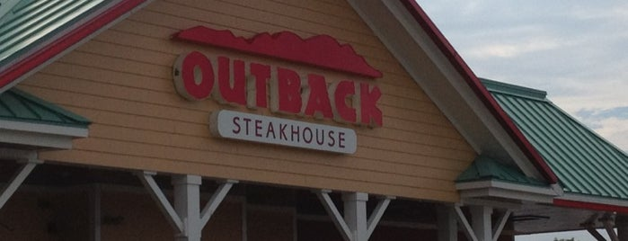 Outback Steakhouse is one of Tempat yang Disimpan Harry.