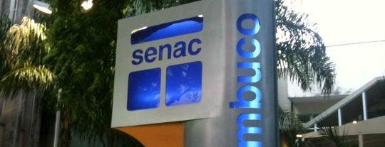 SENAC is one of Locais para Estudos.
