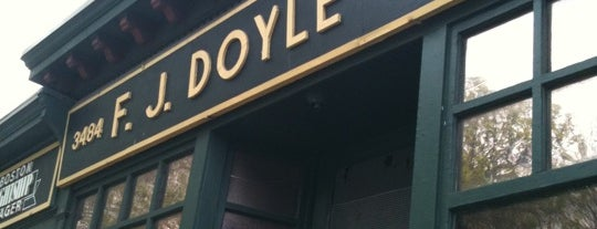 Doyle's Cafe is one of Boston.
