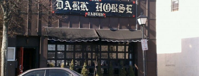 The Dark Horse Tavern is one of To the East of Queens.