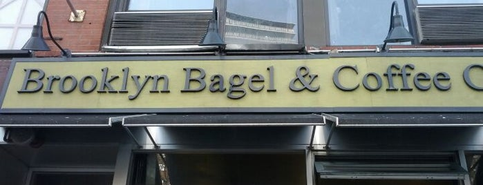 Brooklyn Bagel & Coffee Co. is one of Bagel Shop in NY.