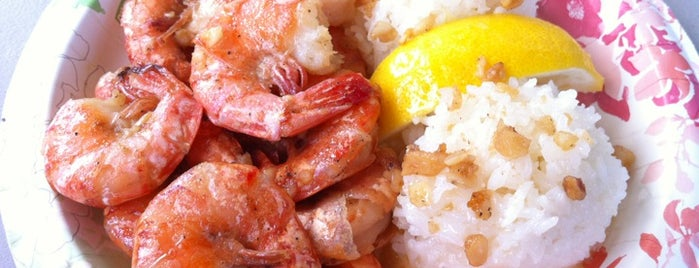 Giovanni's Shrimp Truck is one of Honolulu Recommendations.