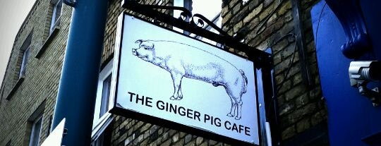 The Ginger Pig Café is one of london.