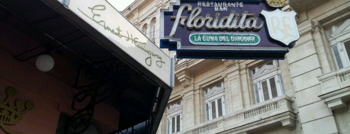 Restaurante Floridita is one of CUBA THINGS TO DO.