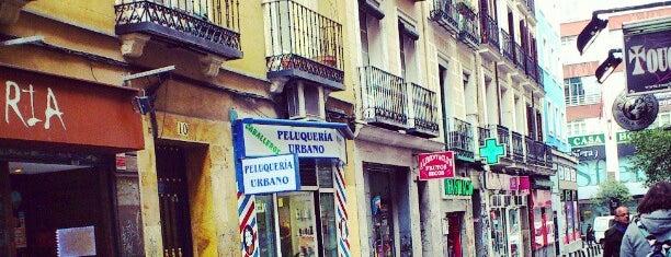 Urbano Peluqueros is one of lugares madrid.