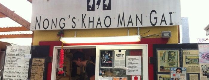 Nong's Khao Man Gai is one of Portland.