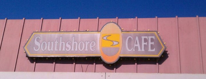 Southshore Cafe is one of Locais curtidos por Frank.