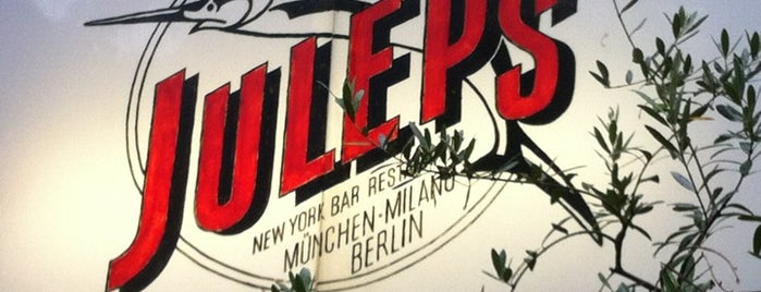 Julep's New York Bar & Restaurant is one of Berlin.