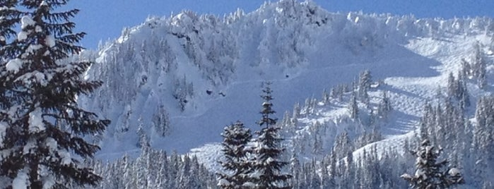 Stevens Pass Ski Area is one of Seattle.