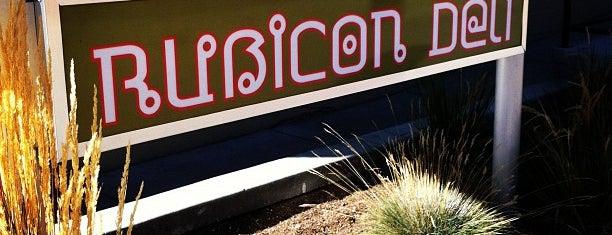Rubicon Deli is one of Reno Favorites.