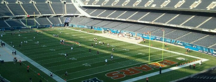 Soldier Field is one of Come Back Later.