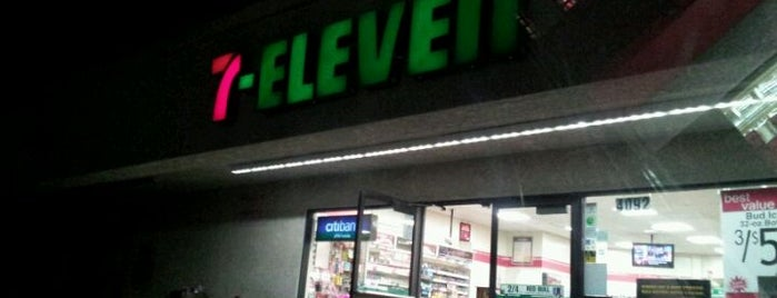7-Eleven is one of สถานที่ที่บันทึกไว้ของ Maverick.
