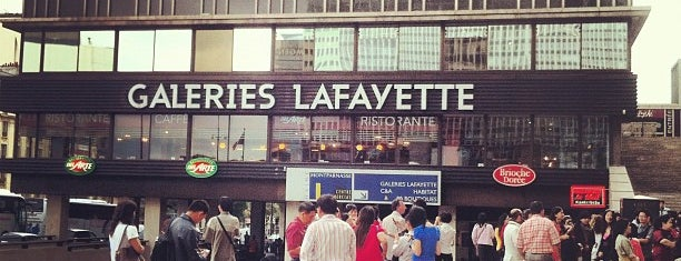 Galeries Lafayette Montparnasse is one of Gespeicherte Orte von Bertrand.