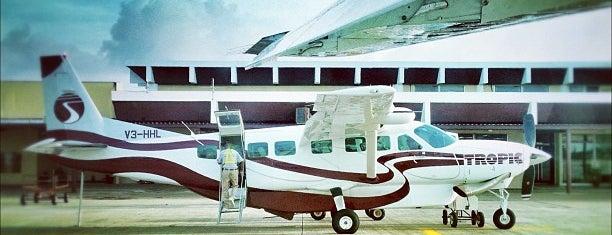 Philip S.W. Goldson International Airport (BZE) is one of Part 1~International Airports....