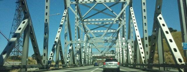Carquinez Bridge is one of Bridges of the Bay Area.