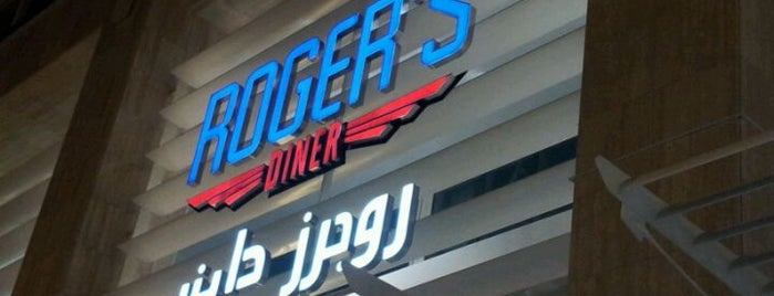 Roger's Diner is one of Ba6aLeEさんの保存済みスポット.