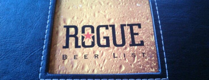 Rogue Ales Public House & Distillery is one of PDX Brew Pubs.