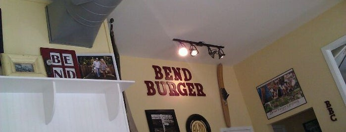 Bend Burger Company is one of Orte, die Mark gefallen.