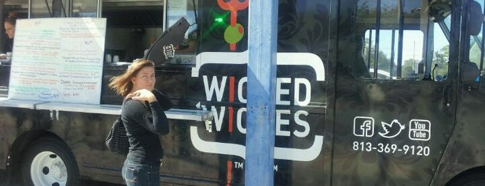 Wicked Wiches is one of Eat street.
