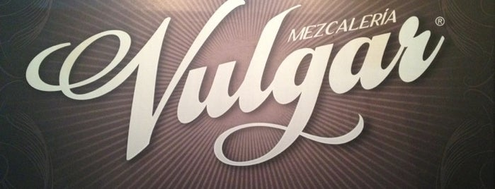 Mezcaleria Vulgar is one of El Afterwork.