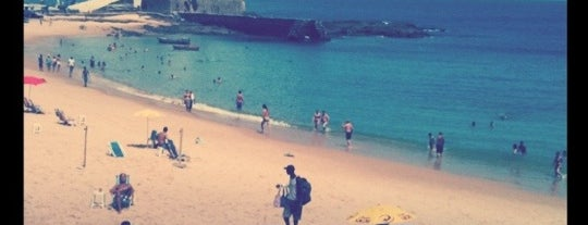 Praia do Porto da Barra is one of Points de Salvador.