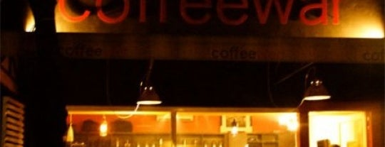 Coffeewar is one of Cafes and Restaurants To Go!.