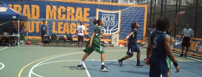 Dean Street Playground is one of Where to play ball — Public Courts.