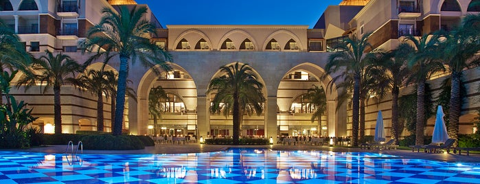 Kempinski Hotel The Dome Belek is one of Locais curtidos por Tugba.