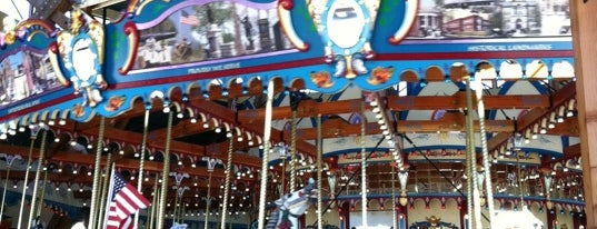 Silver Beach Carousel is one of Michigan.
