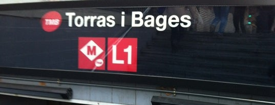 METRO Torras i Bages is one of Sant Andreu del Palomar.