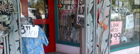 Bailey's Antiques & Aloha Shirts is one of My Favorite Oahu.