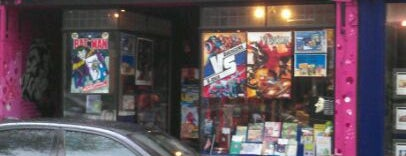 Raygun Comics is one of Nerds in London.