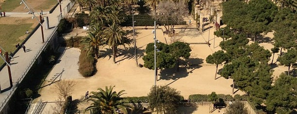 Parc de Joan Miró is one of Barcelona.