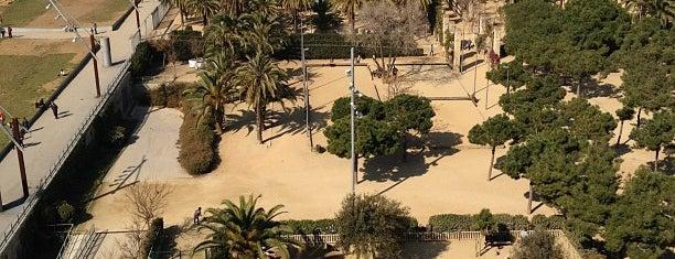 Parc de Joan Miró is one of Barcelona.