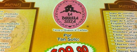 La Parrilla Suiza is one of lugares pendientes.