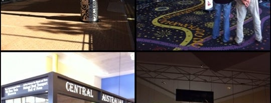 Alice Springs Airport (ASP) is one of Airports I've been to.