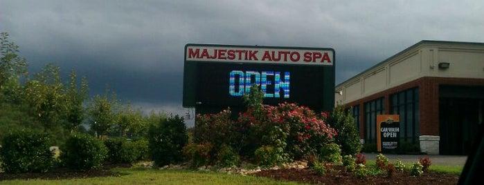 Majestik Auto Spa is one of Tempat yang Disimpan Abby.